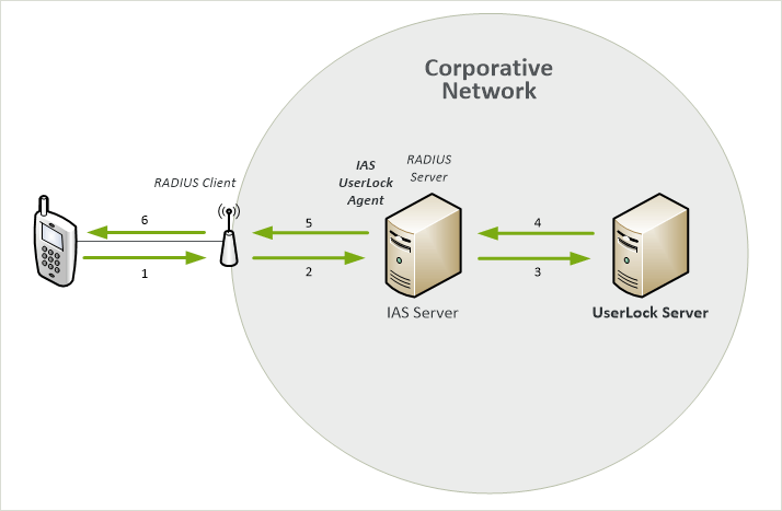 Wi-Fi sessions (with RADIUS Authentication and Accounting