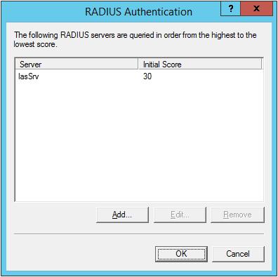 radius authentication