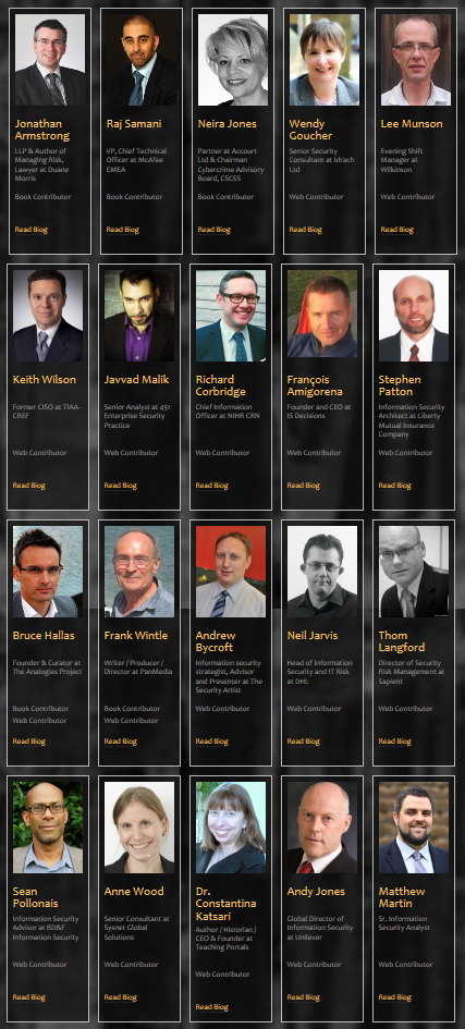 IT security contributors to the analogies project