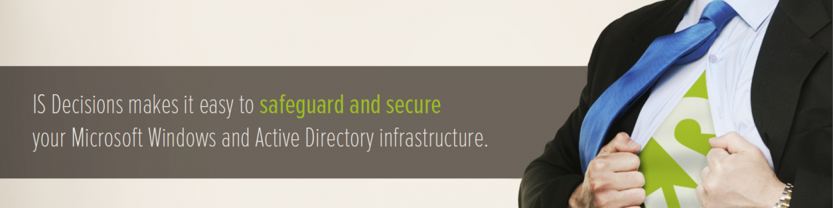 Windows Active Directory Security with IS Decisions