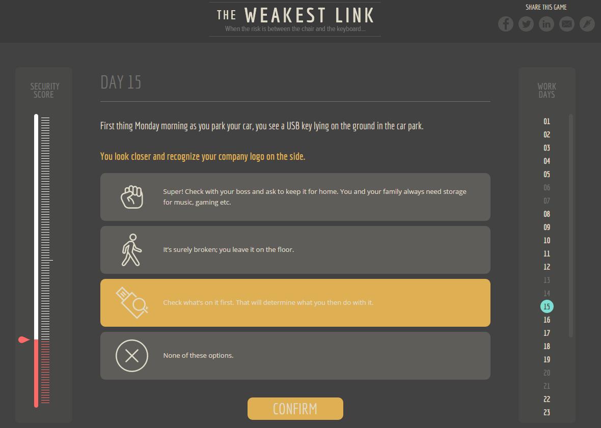 user security awareness game