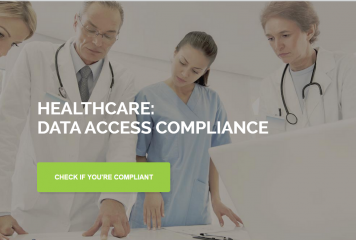 Healthcare Compliance Report – Data Security Posture