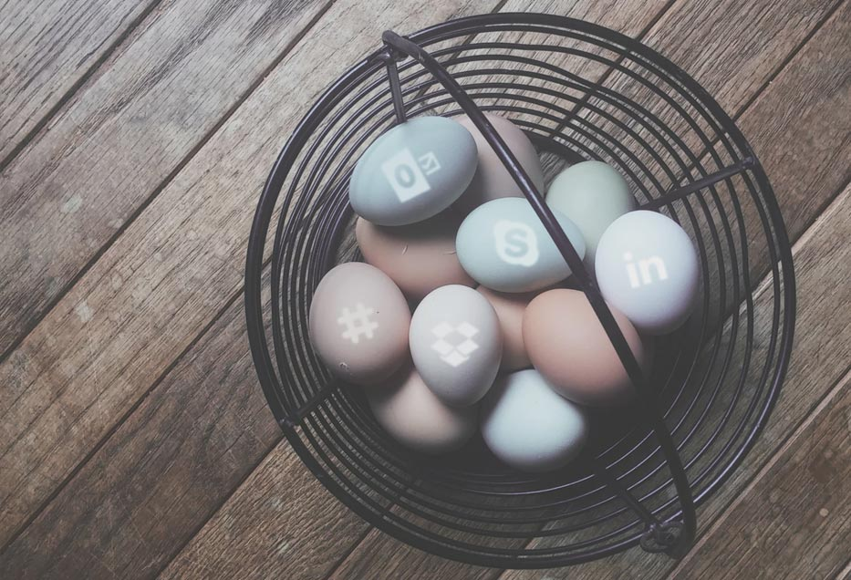 All eggs in a basket