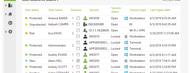 Find Active Directory Users Logged on in a Domain – and more