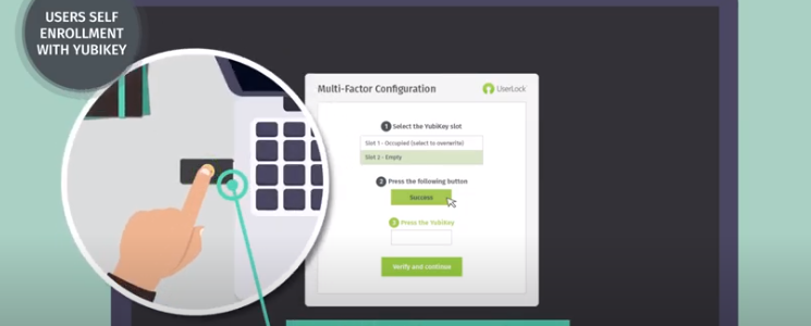 Yubikey 2 Factor Authentication for Windows Logins