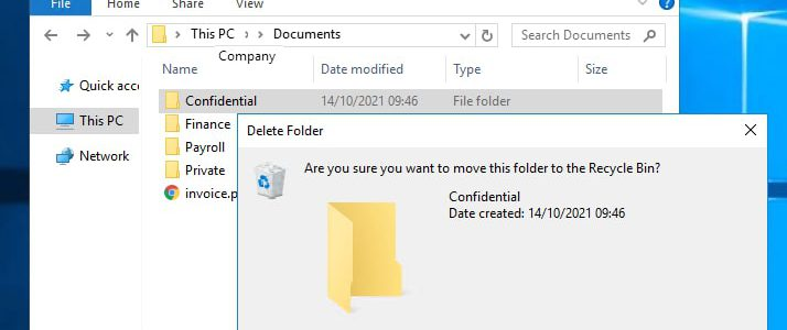 Stop the Frustration and Risk of Unchecked Access to Files and Folders