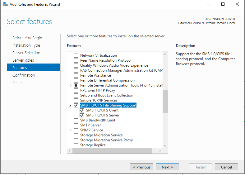 How to run a UserLock server installed on Windows Server 2019 with