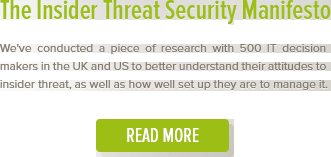 The insider threat manifesto